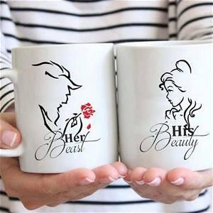 Beast & Beauty Mug Set
