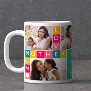 Mother Love Mug With 3 Photos