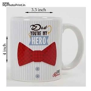 Personalised Ceramic White Mug