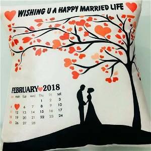 Wishing Married LIFE Cushion