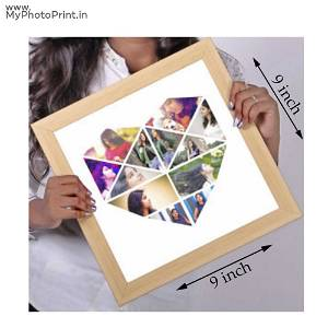 Heart Photo Frame With More Than 10 Photos