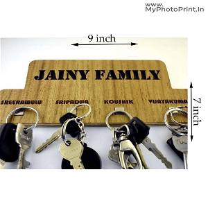 Family With Name Key holder