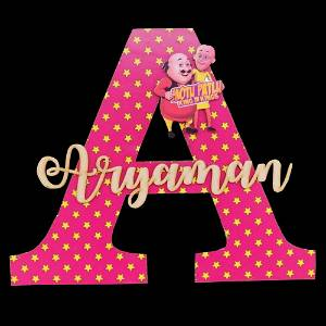 Alphabetical Name Wall Hanging