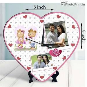 Heart Shape With Clock 2 Photo