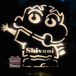 Action Kamen Shinchan Name Board
