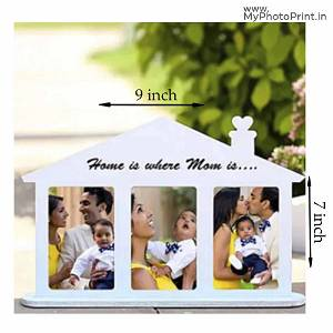 Home With Family Photo Frame
