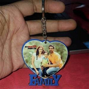 Customized Your Text & Image Keychains #120