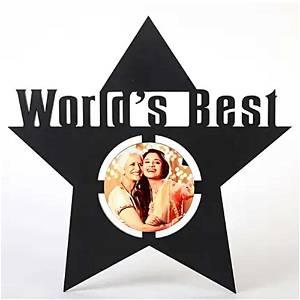 World's Best Star photo frame