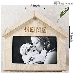 Wooden Home Photo With Mother Frame
