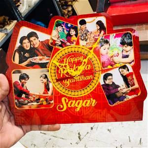 Raksha Bandhan Photo Clock Frame 6 Photo