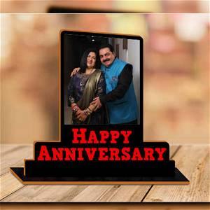 Happy Anniversary Photo Table Top
