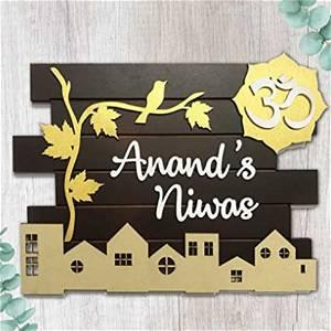 Home Sweet Home Name Plate