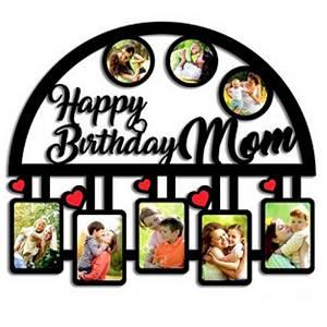 Happy Birthday Mom Photo Frame Collage 8 Photo
