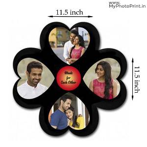 Flower Photo Frame With 4 photo