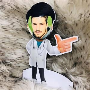 Customized Doctor Caricature Photo
