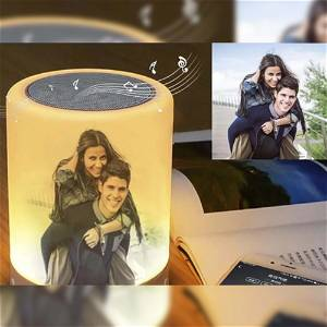 Customize Bluetooth Speaker With Your Photo With Multi Color