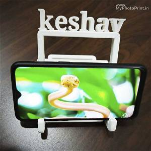 Customize 3D Phone Stand With Your Name