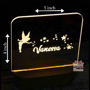 Wooden Star Acrylic 3D illusion LED Lamp with Color Changing Led and Remote#1306