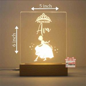 Personalized Angel Acrylic 3D illusion LED Lamp with Color Changing Led and Remote#1314