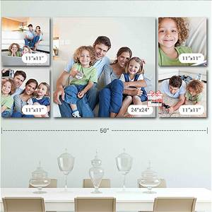 Customized Multiple Canvas On Wall (Pack OF 5) / you can send photos via WhatsApp also after order or query on whatapp