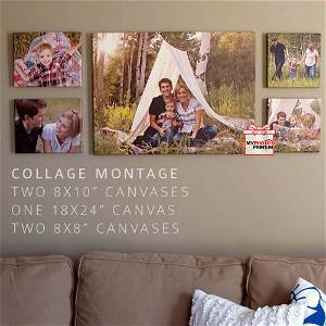 Customized Photo Canvas On Wall (Pack OF 5) / you can send photos via WhatsApp also after order or query on whatapp