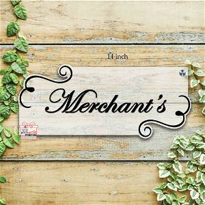 Customized Surname Home Name Plate