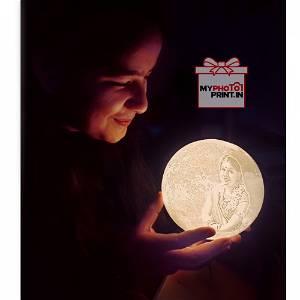 Photo Moon Lamp | White Color 2