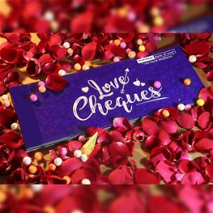 Love cheque book - Romantic gift - 15 Love cheques- For Men and Women Both / You Can Add Your Messages Also  -Fully Customized / Any Query Whatsapp Us After Order +91 - 8700081322 | 9873373428 11AM to 6PM