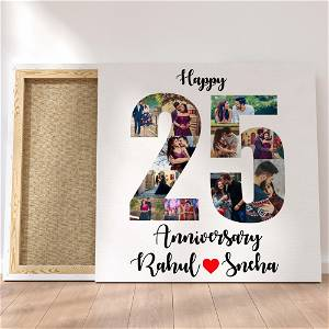Customized Multiple 10 Photo Frame Collage Canvas #1410 /Any Query Whatsapp Us After Order