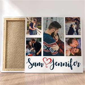 Customized Multiple 10 Photo Frame Collage Canvas #1411 /Any Query Whatsapp Us After Order