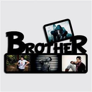 Brother Wooden Photo Frame/Collage 4 Photos