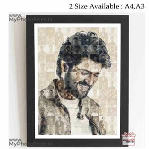 Personalized Photo Mosaic Frame/you can send photos via WhatsApp also after order or query on whatapp