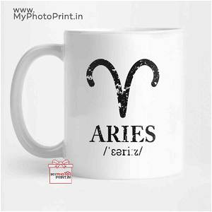 Aries Zodiac Sign Mug