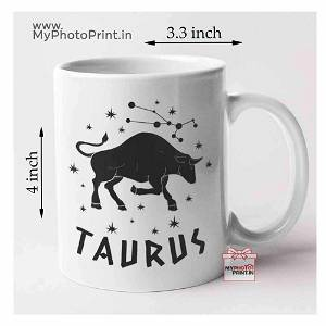 Taurus Zodiac Sign Mug