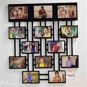 Special Personalize Multi Photos Big Frame/Collage 13 Photos