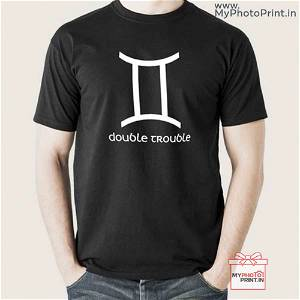 Gemini Zodiac Sign T-Shirt