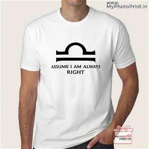 Libra Zodiac Sign T-Shirt