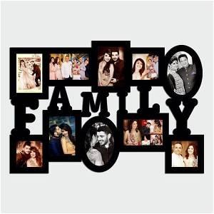 Family Wooden Photo Collage 10 Photos #151