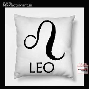 Leo Zodiac Sign Cushion