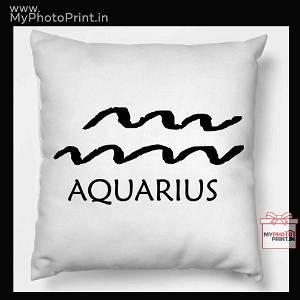Aquarius Zodiac Sign Cushion