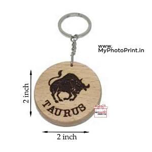 Taurus Zodiac icon Keychain