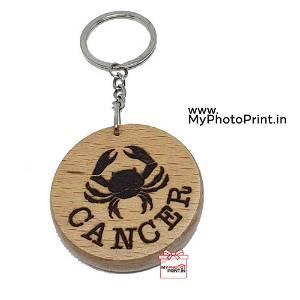 Cancer Zodiac icon Keychain