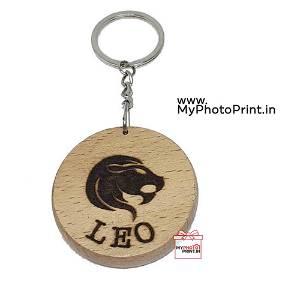 Leo Zodiac icon Keychain