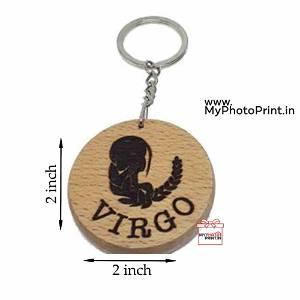 Virgo Zodiac icon Keychain