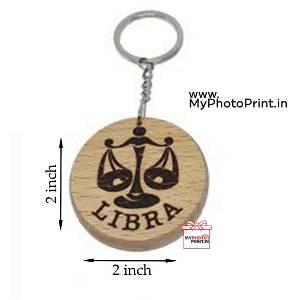 Libra Zodiac icon Keychain