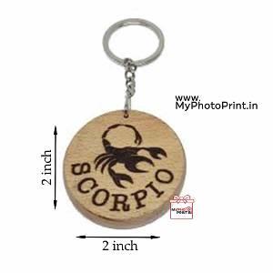 Scorpio Zodiac icon Keychain