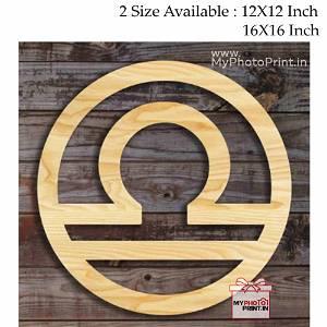 Libra Zodiac Sign Wall Hanging