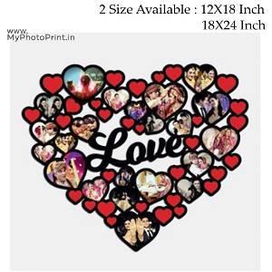 Love Wooden Photo Frame Collage 20 Photos #156