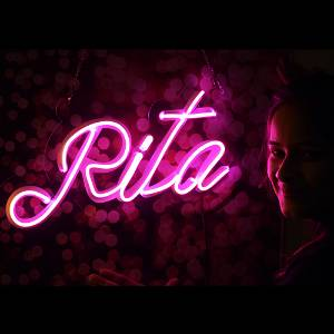 Custom Name Led Neon Sign Decorative Lights Wall Decor | Size Approx 12 inch X 18 inch According to Name 3