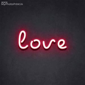Neon Love Led Neon Sign Decorative Lights Wall Decor